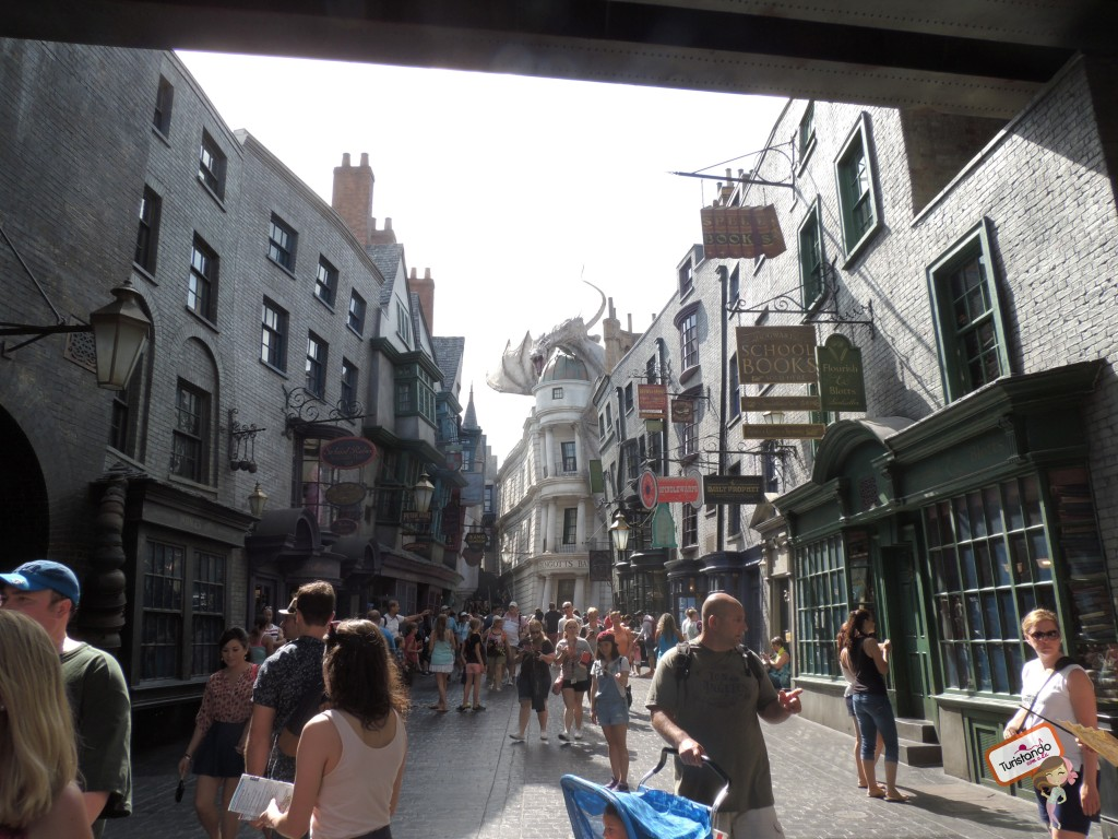 Diagon Alley, sensacional